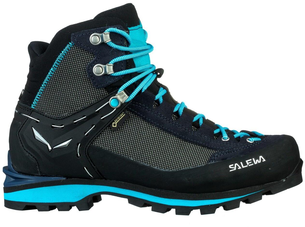 buy popular e1707 c51b2 SALEWA Crow GTX Scarpe Donna, premium navy/ethernal blue